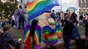 Photo of Pride rally