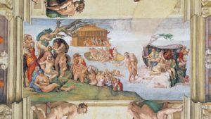 Photo of Sistine Chapel ceiling